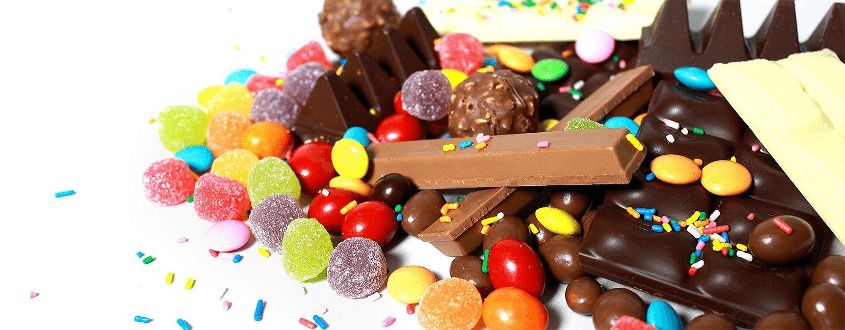 Chocolates e Balas